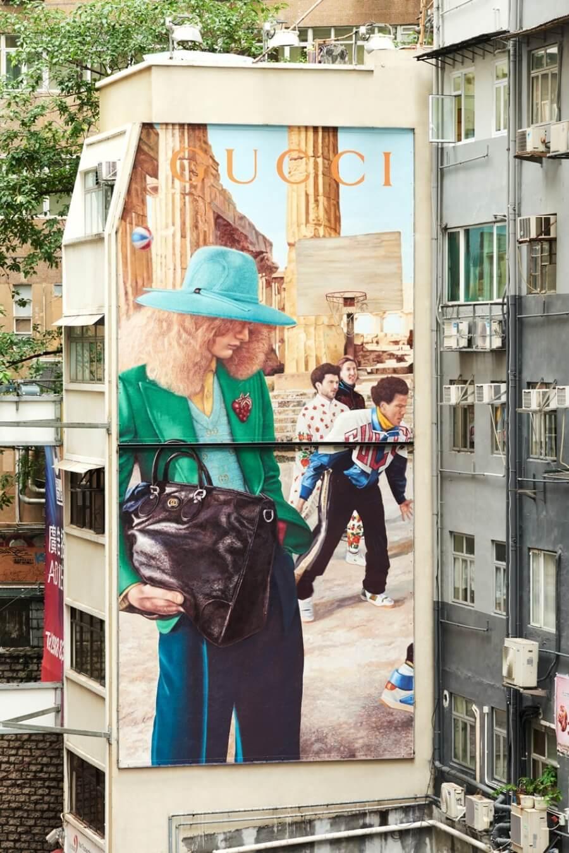 los murales de la firma italiana por todo el mundo