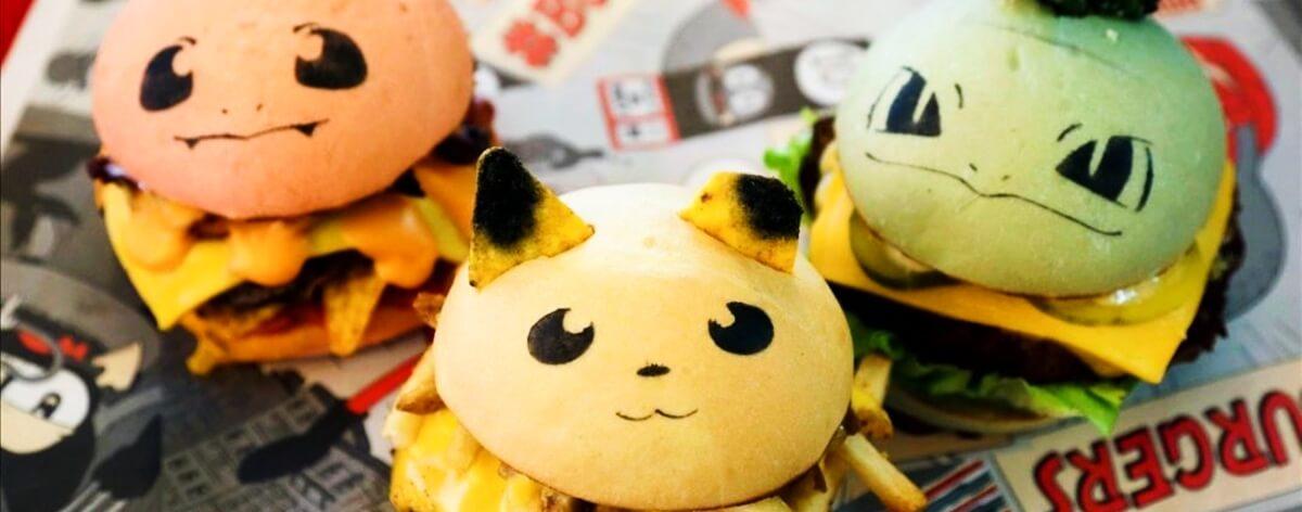 Hamburguesas de Pokémon en bar de Nueva York