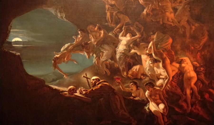 El erotismo presente en obras de arte históricas