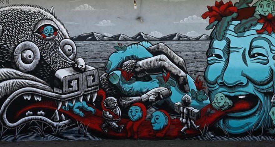 Festival Huellas Tilcajete 2019: street art y tradición