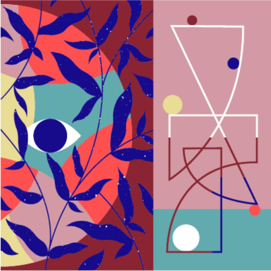 obras abstractas de Hell'O Collective en Configurable Art por Felipe Pantone