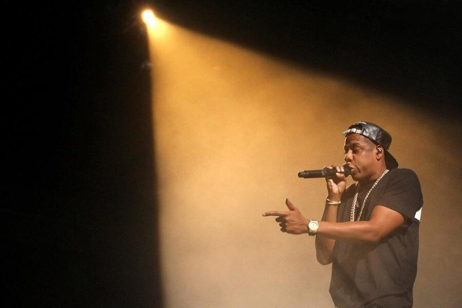 Jay Z cantando