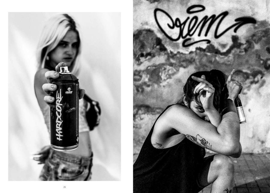 Mujeres en el graffiti
