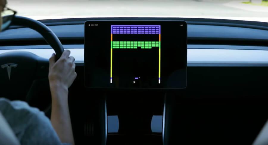 Atari en Tesla