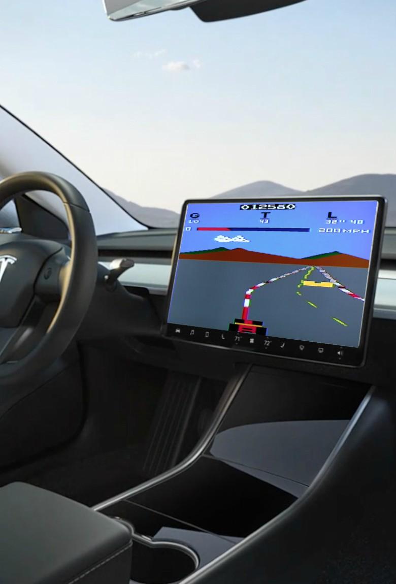 Juegos para los coches, el futuro de los videojuegos