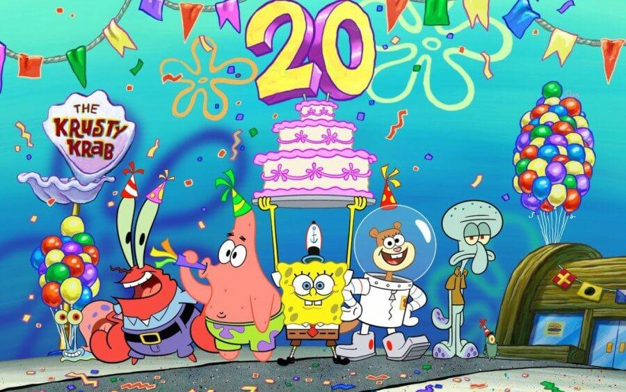 20 aniversario Bob Esponja