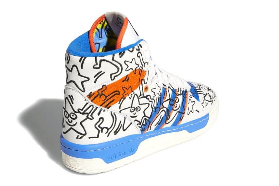 Cleeción de Keith Haring con Adidas