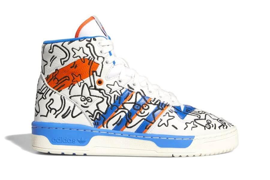 Keith Haring y Adidas