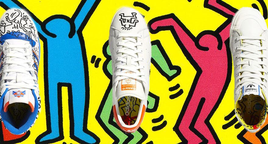 Keith Haring y adidas un homenaje al Pride Month