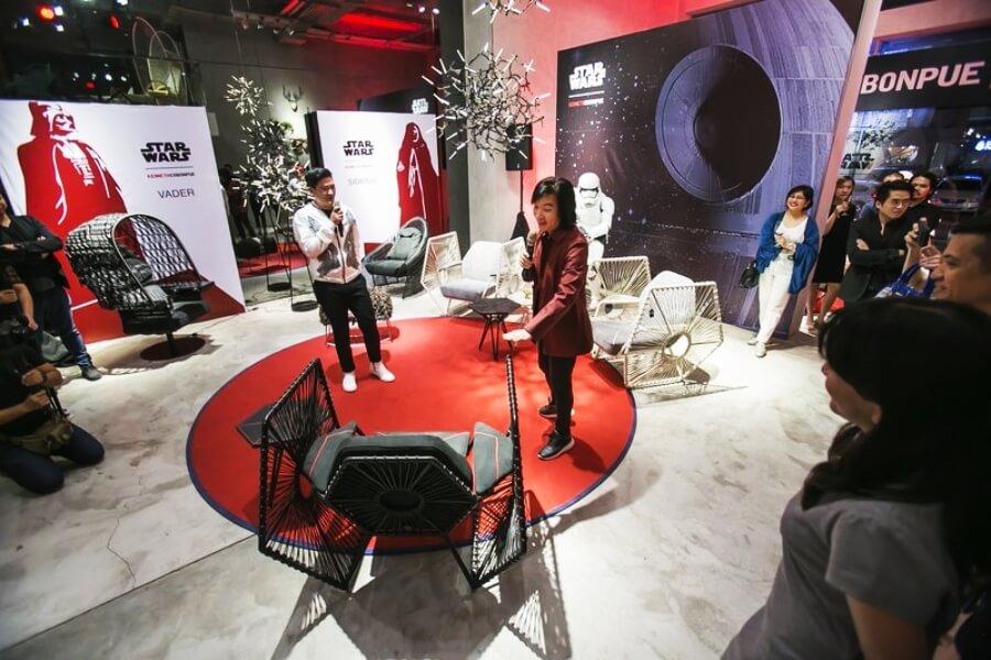 Kenneth Cobonpue rinde homenaje a Star Wars con muebles