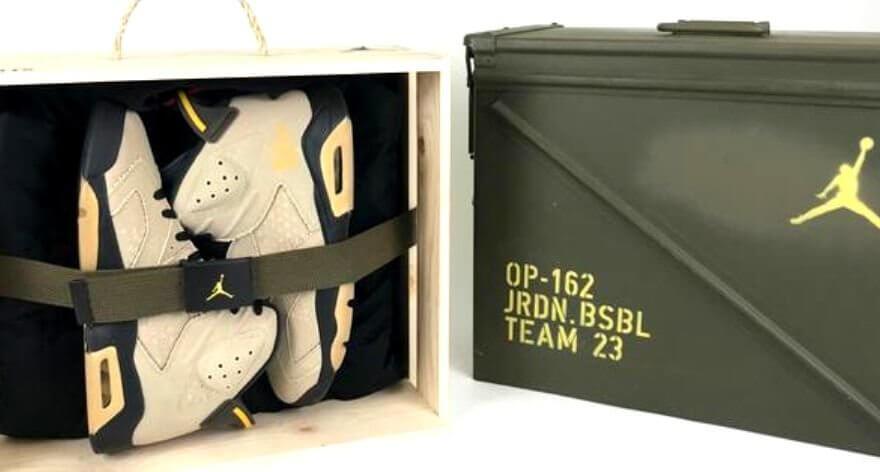 La edición especial Air Jordan 6 «OP-162» está increíble