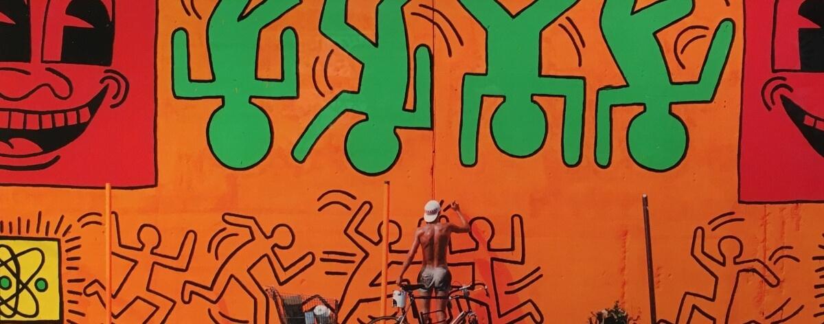 La exhibición de Keith Haring en Rhodes Contemporary
