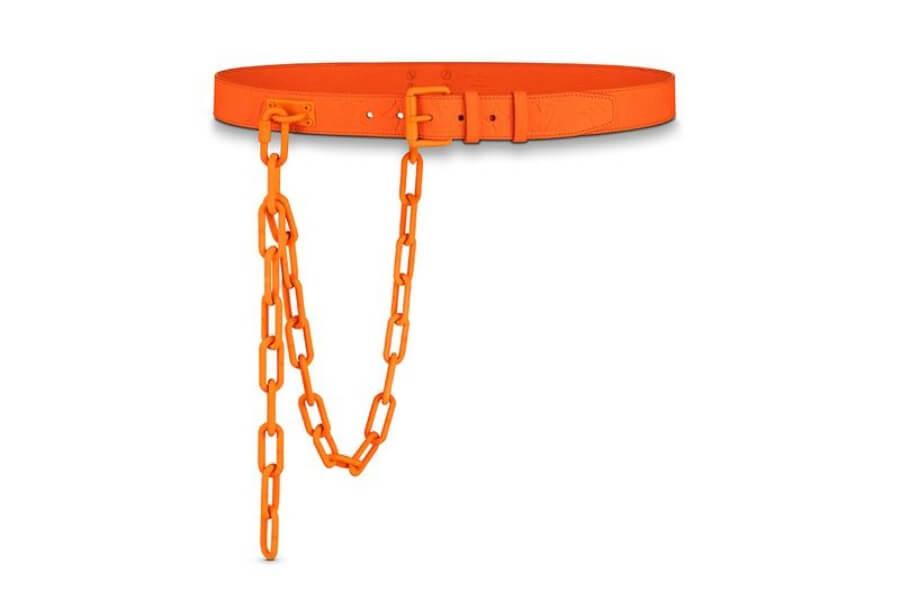 el drop naranja de la firma italiana