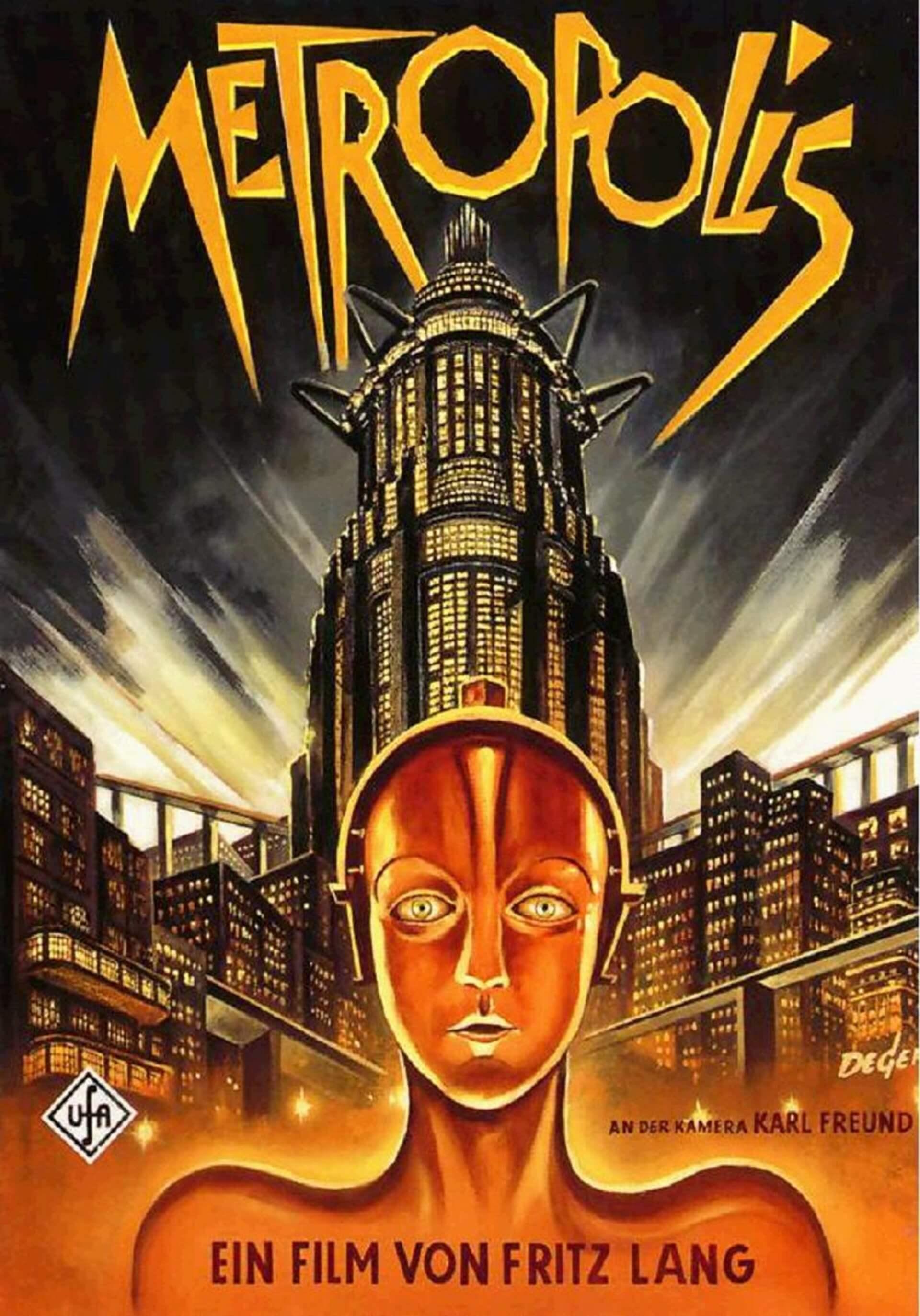 Póster de la película de Metropolis