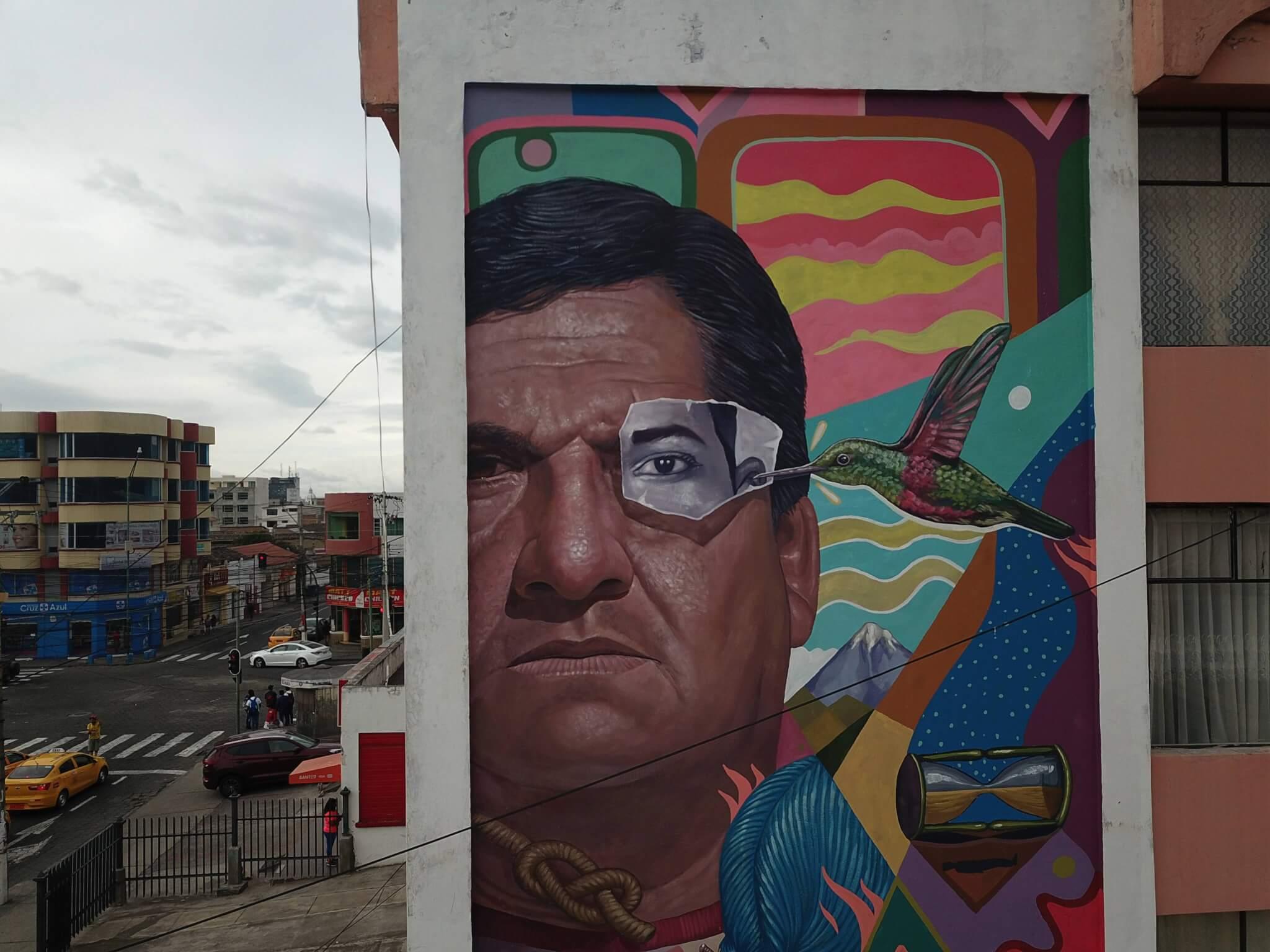 mural de Decertor en NUMU
