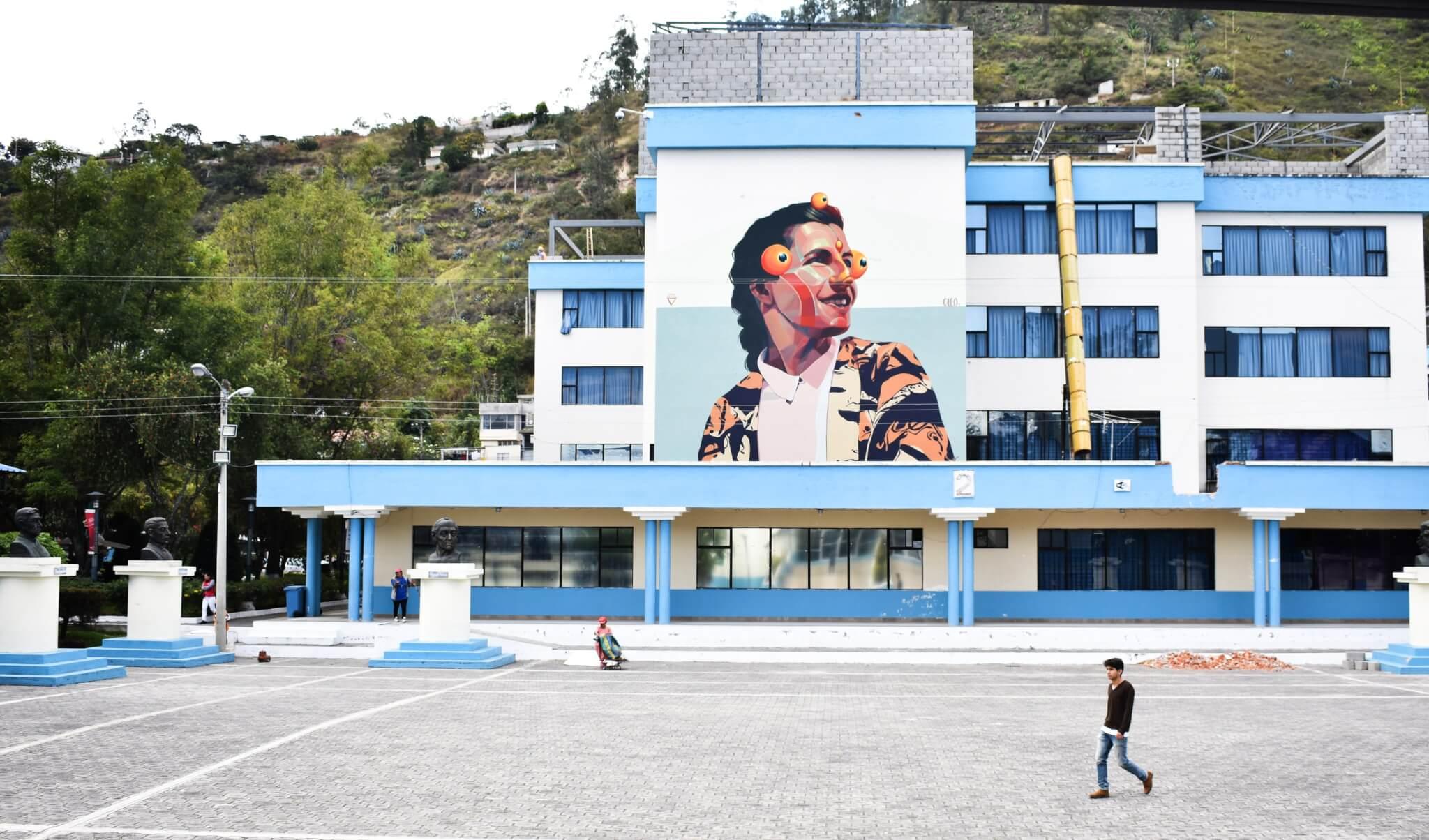 mural de Gleo en NUMU