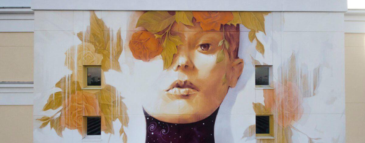 Nameless Heroines, el nuevo mural de INTI en Moscú
