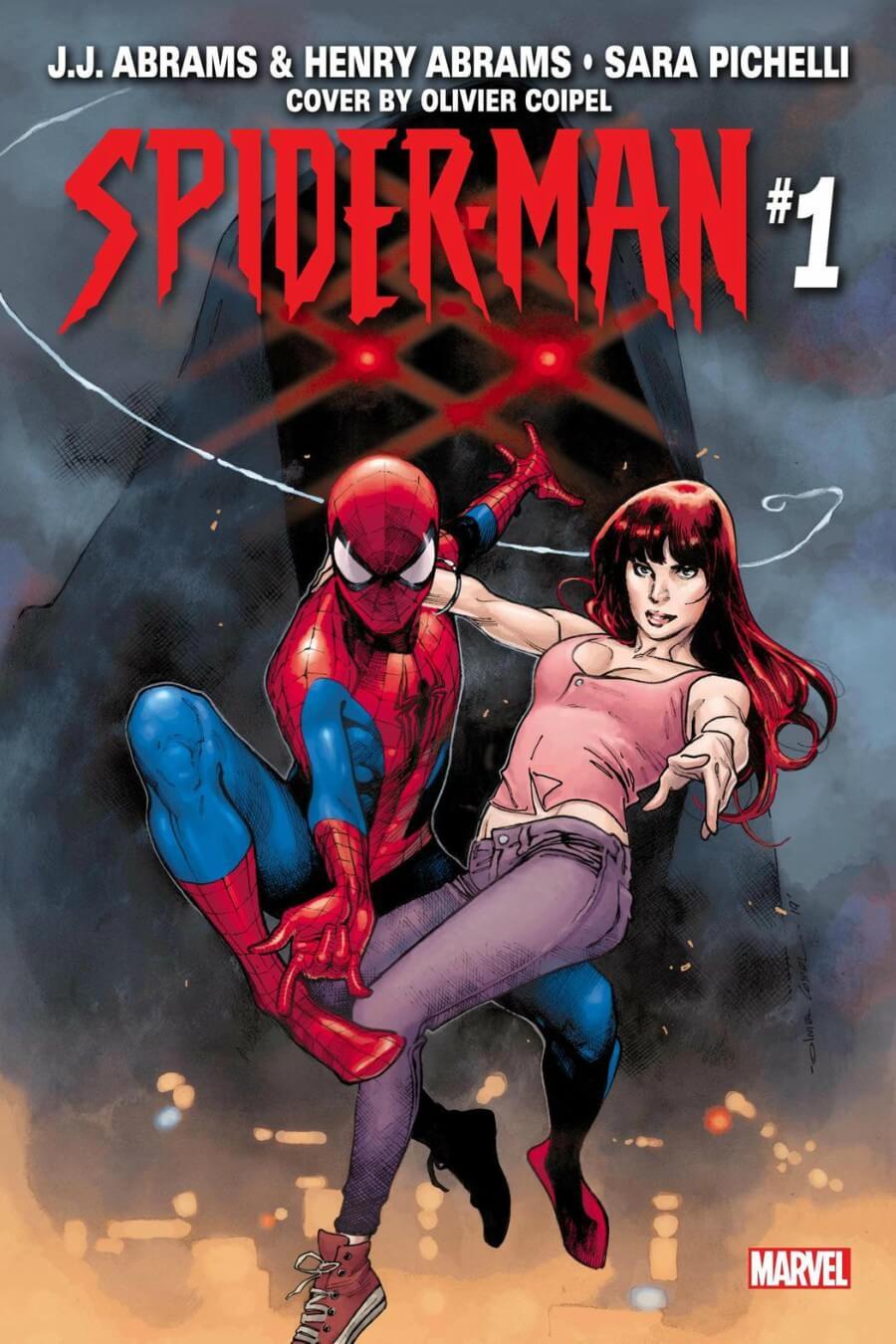 Portada de SPIDER-MAN # 1 por Olivier Coipel y colorista Dave Stewart