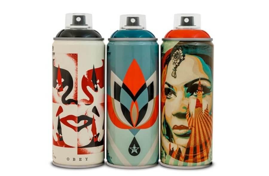 latas en colaboración con Beyond The Streets