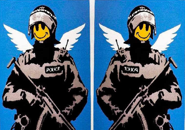Primera muestra de Banksy en Málaga