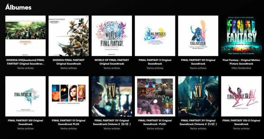 Soundtracks de Final Fantasy