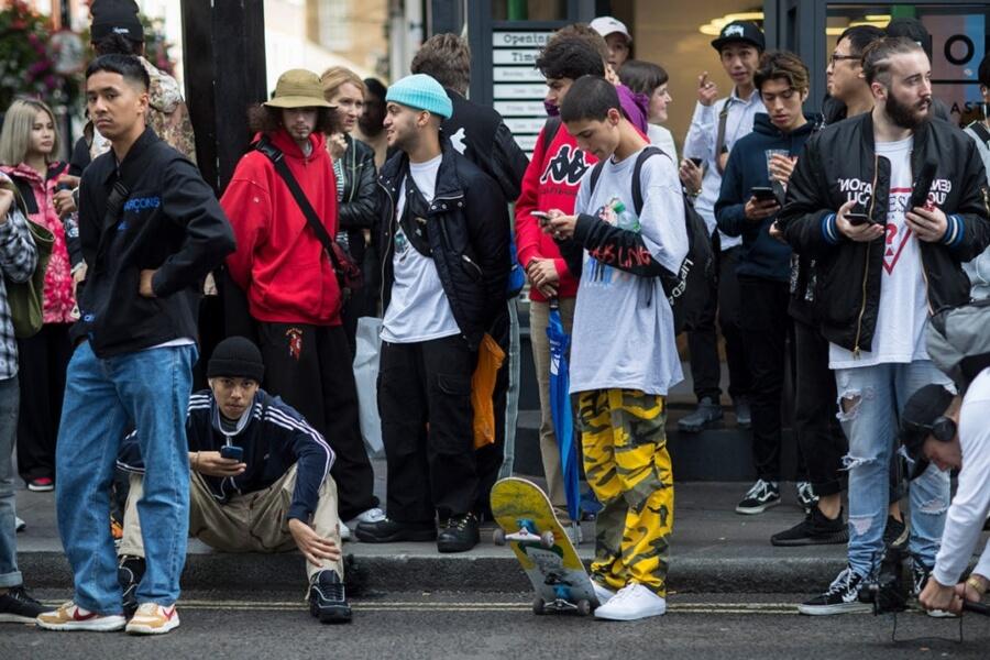 Streetwear en las calles