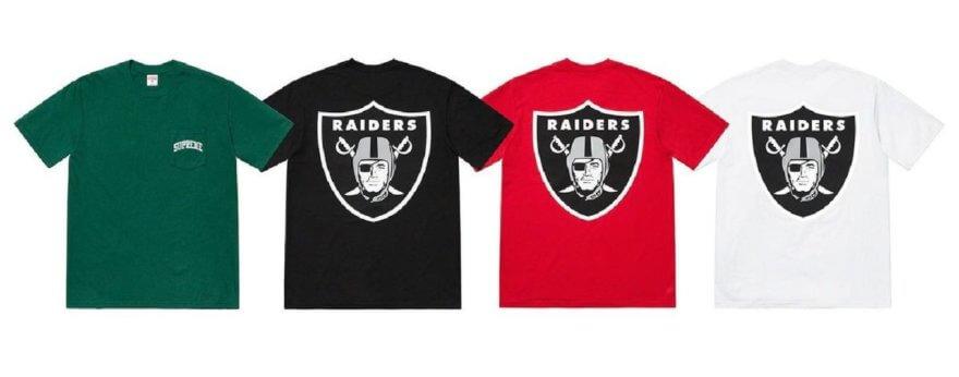 SUPREME y Raiders lanzan colección especial SS19