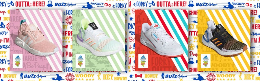 Tenis Adidas de toy story