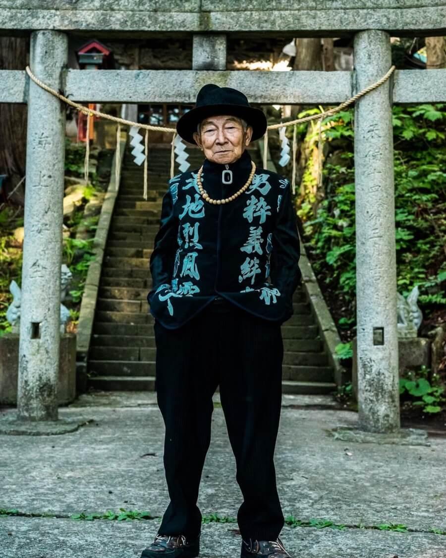 Tetsuya el influencer de la moda de la tercera edad