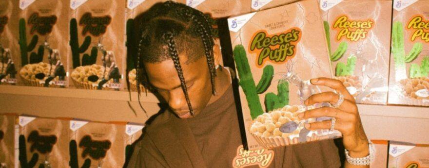 Travis Scott lanza cereal de edición especial