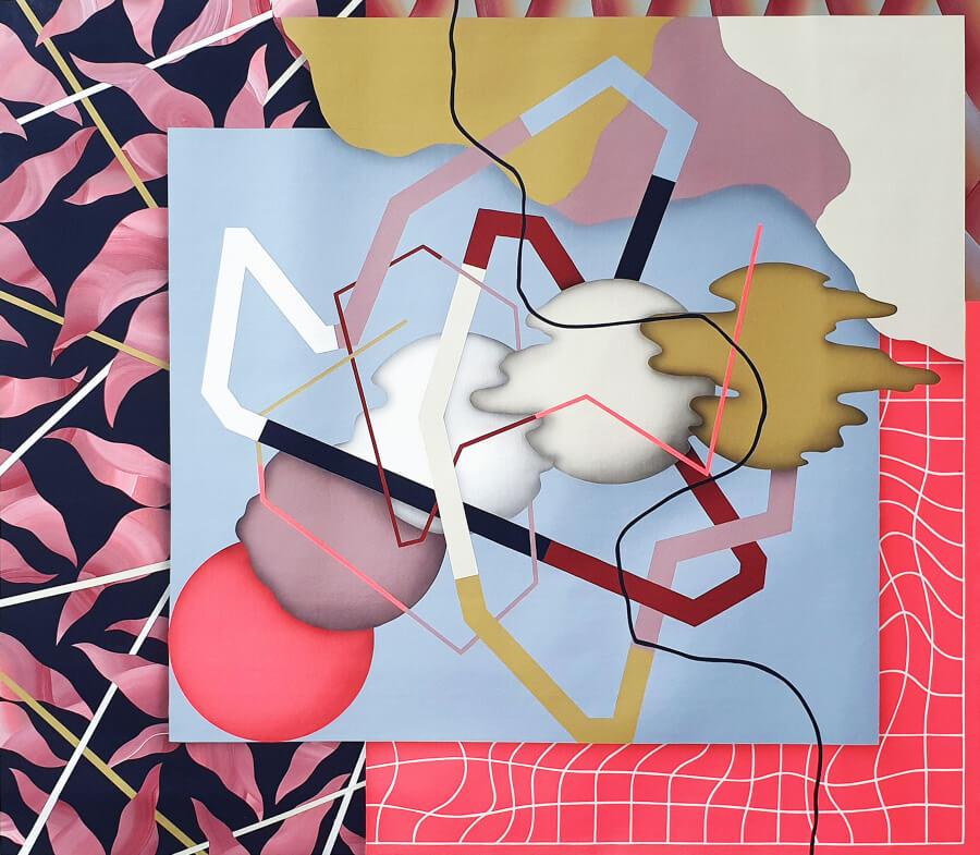obra de Hell'O Collective en Delimbo Gallery de Sevilla