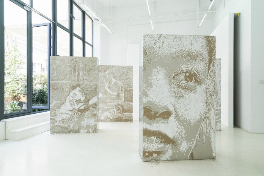 Obra de Alexandre Farto en China