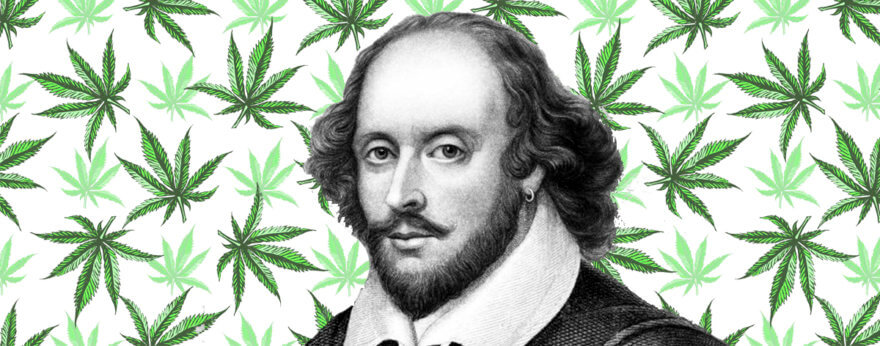 William Shakespeare fumaba cannabis