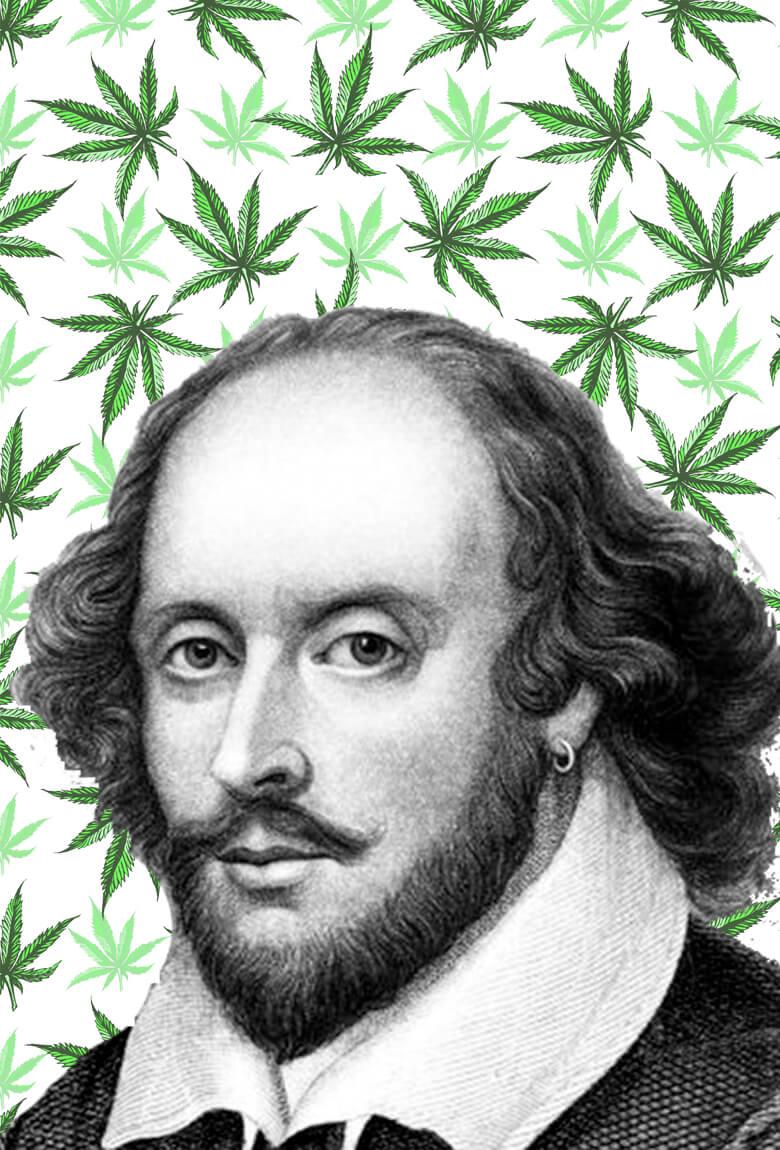 William Shakespeare fumaba cannabis