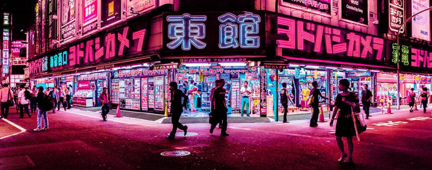Xavier Portela y las noches neón de Hong Kong