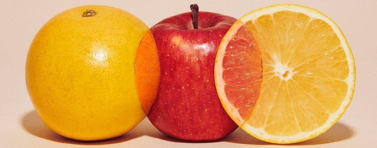 Yuni Yoshida y sus obras creadas con frutas