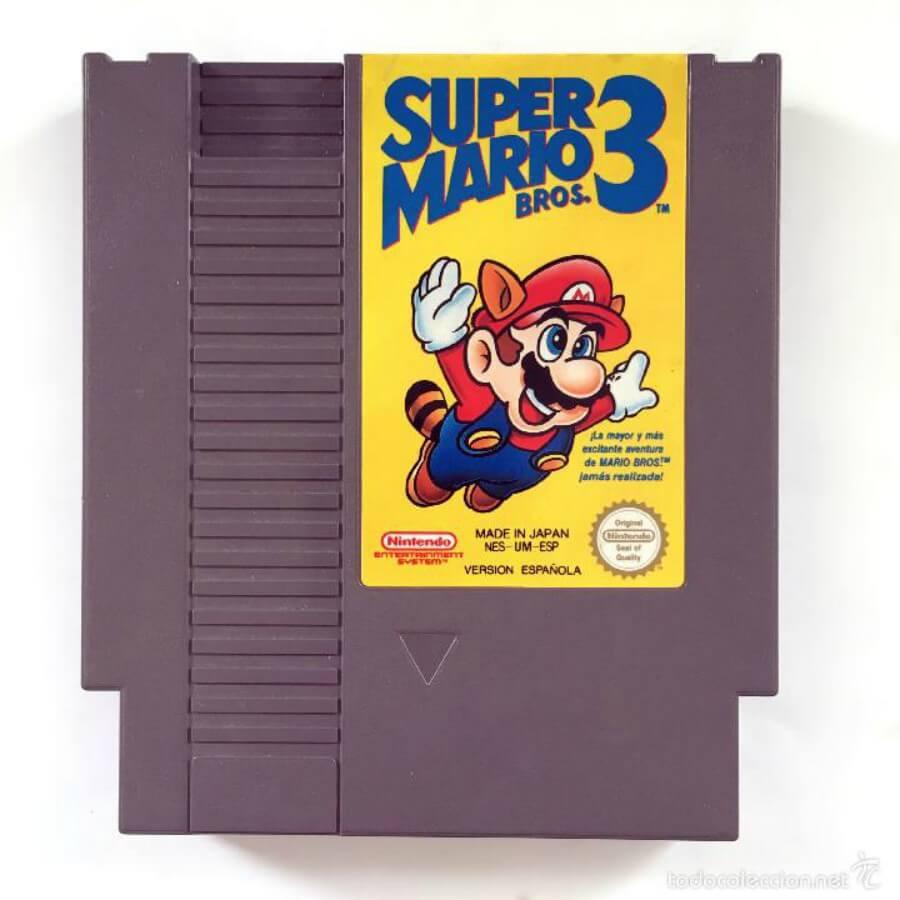 Cartucho super Mario Bros 3