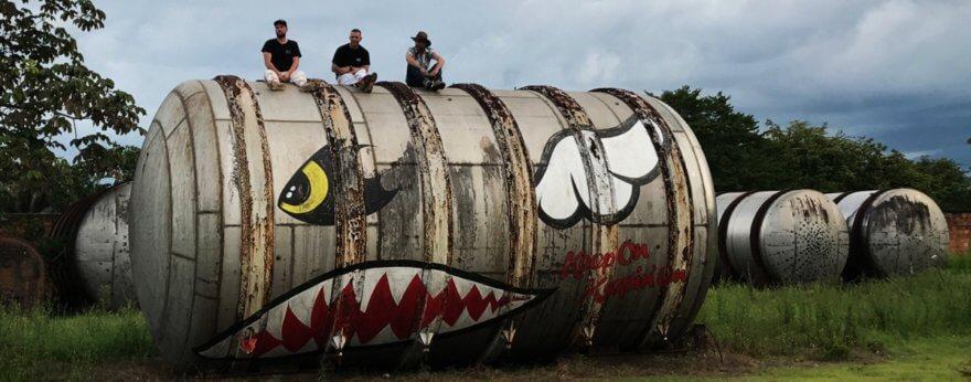 Art Distilled, arte urbano en la selva de Colombia