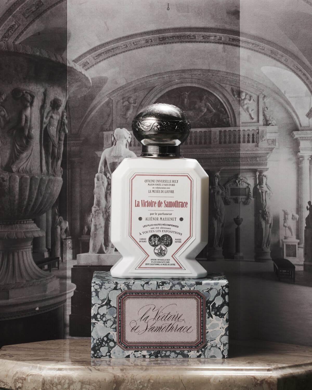 perfumes inspirados en obras del Louvre