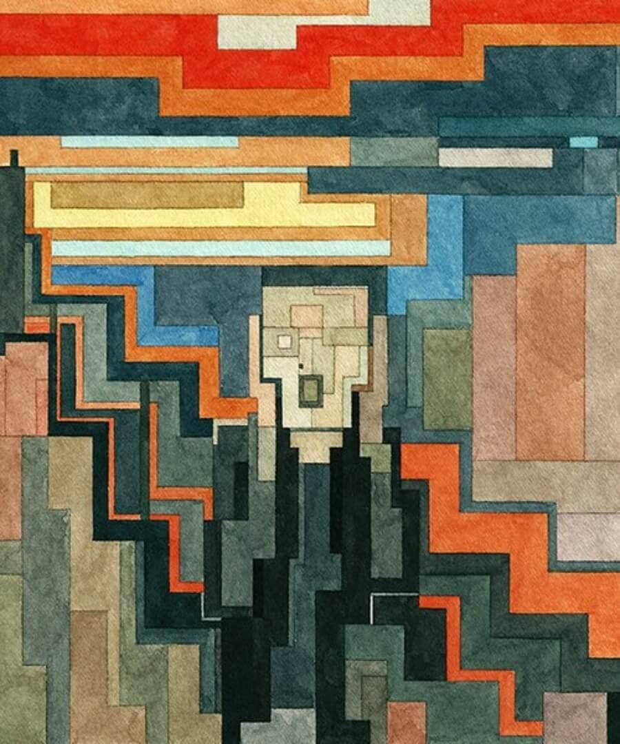 Adam Lister y sus obras pixeleadas