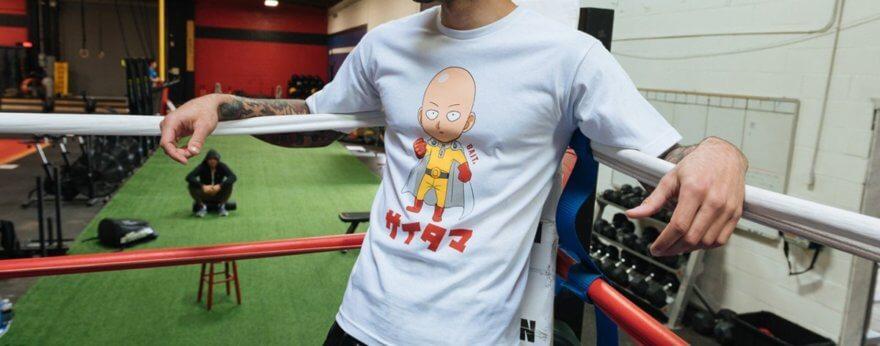 Bait y One Punch Man lanzan colaboración