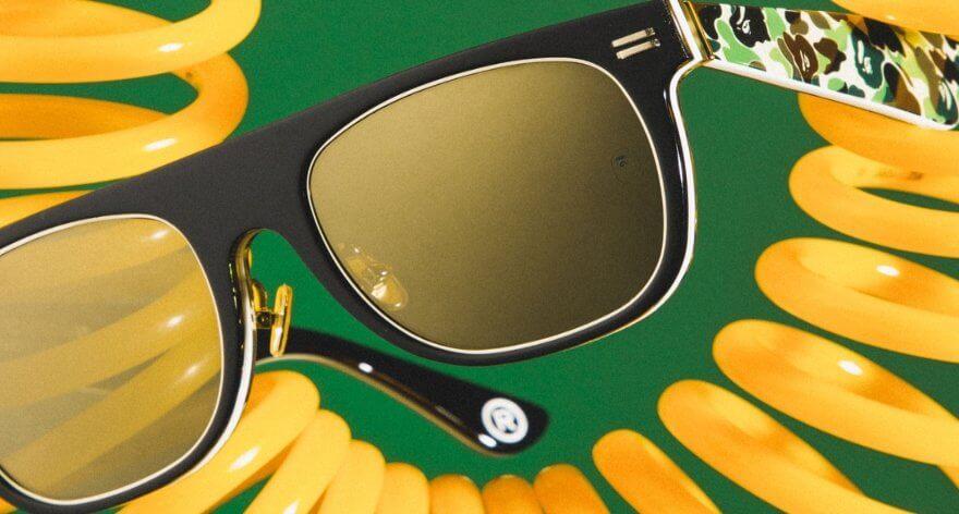 Bape lanza lentes para su colección SS19