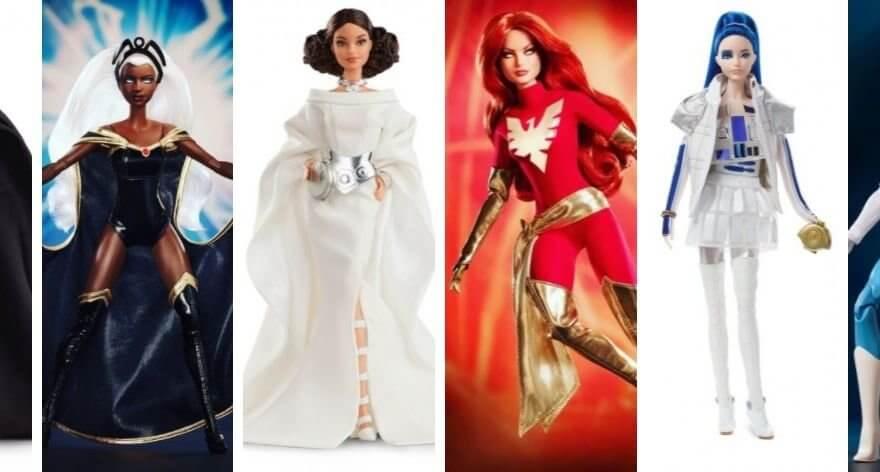 Barbie presenta muñecas de X-Men y Star Wars