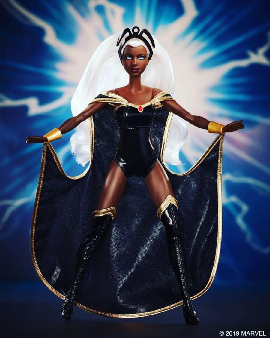 Barbie y X-Men presentan  a sus super heroínas
