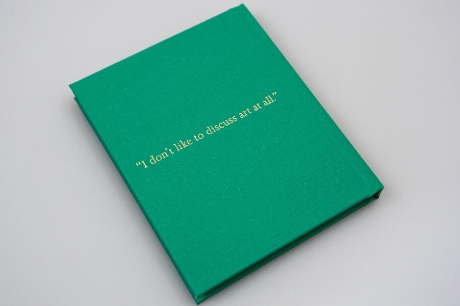Un parte de la personalidad de Basquiat en un libro