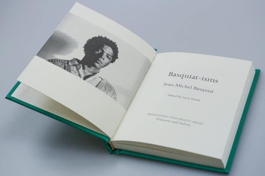 Basquiat Isms el nuevo libro de Basquiat