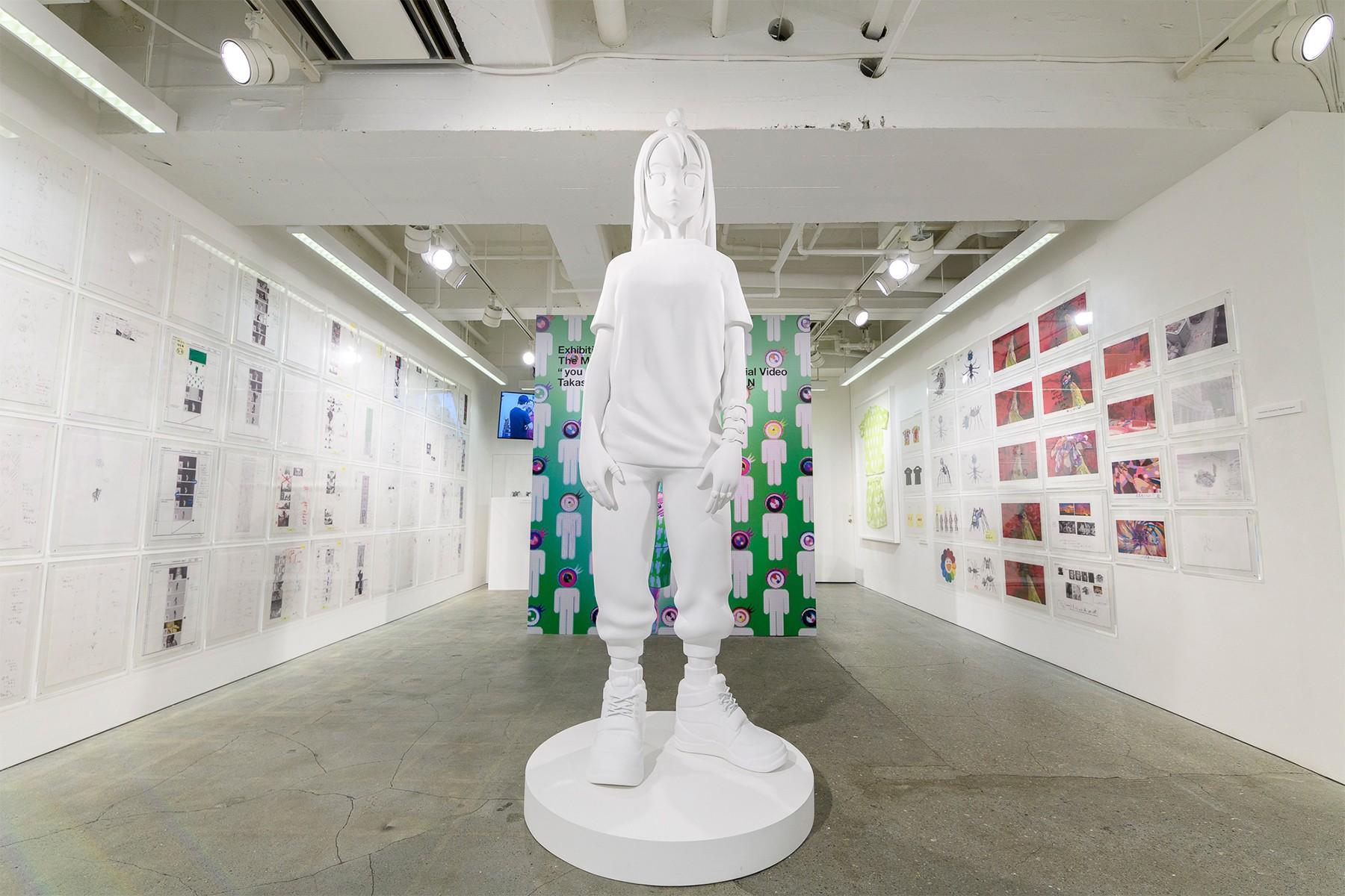 exposición de Billie Eilish y Takashi Murakami