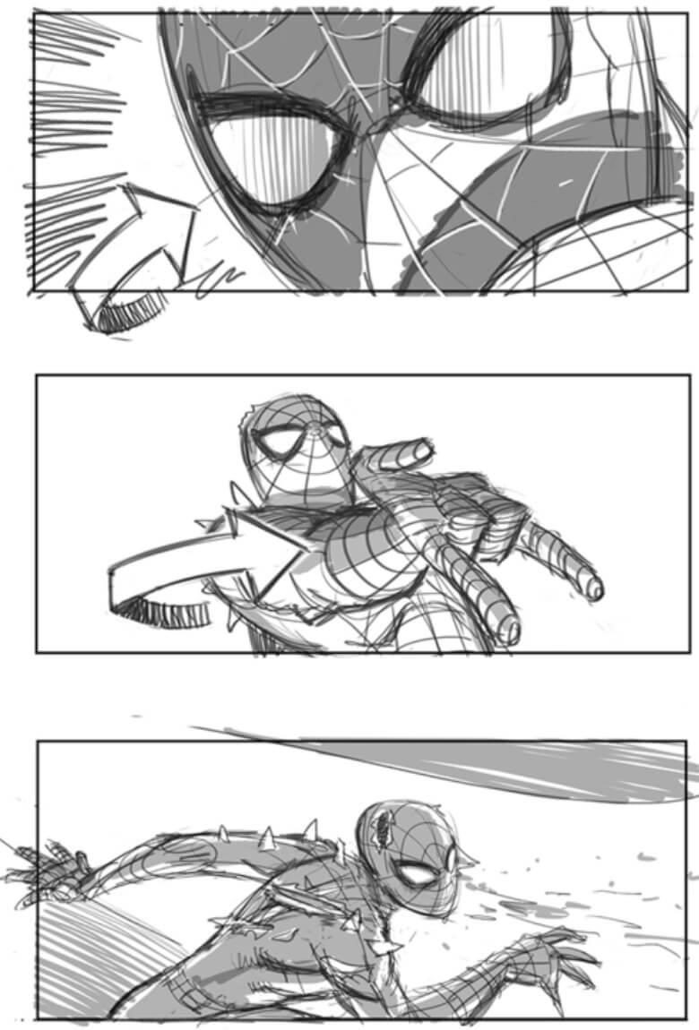 Bocetos de Spider-Man 4 son revelados por su ilustrador