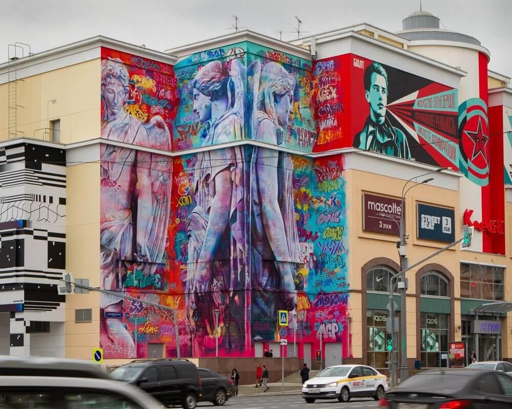 street art en Moscú