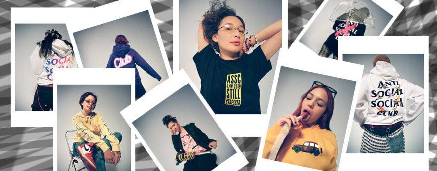 Colección femenina de Anti Social Social Club para 2019